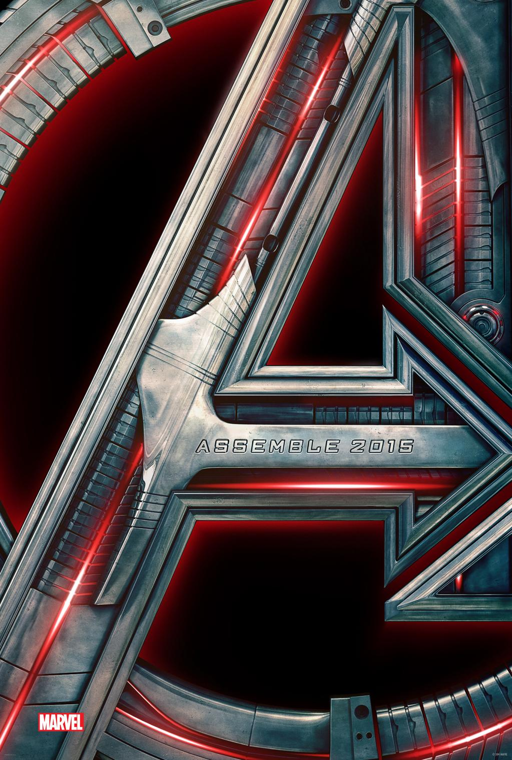 The Official Avengers: Age of Ultron poster.