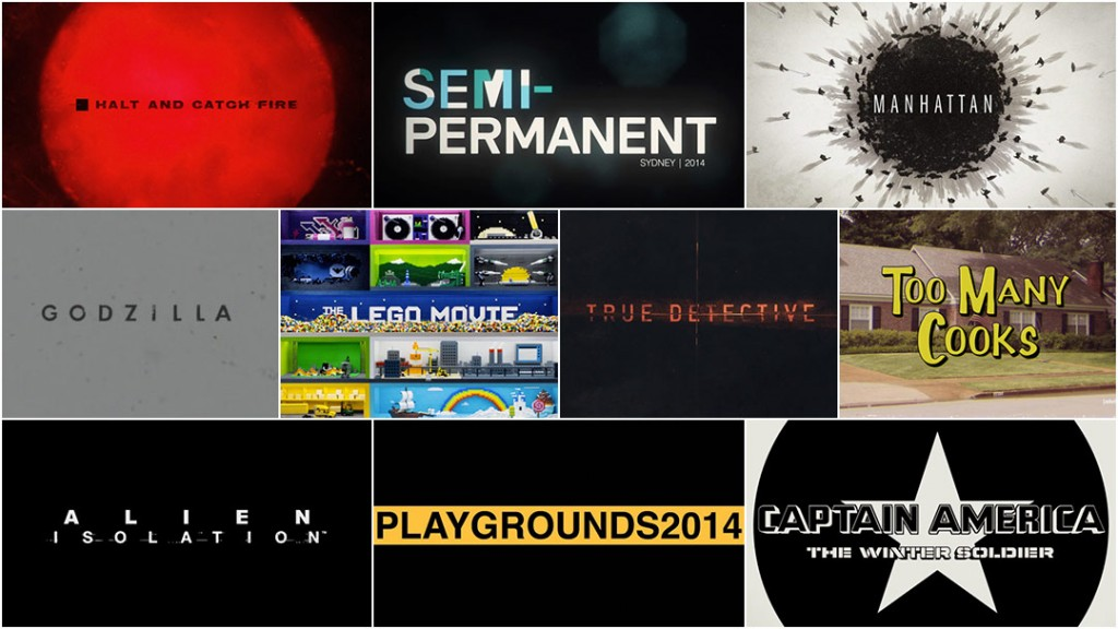 Top 10 Title Sequences of 2014, by Art of the Title