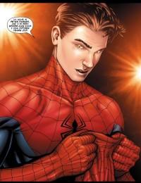 Spiderman in Marvel's Civil War comic