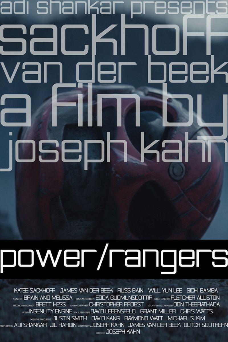 Power Rangers Fanfilm Poster