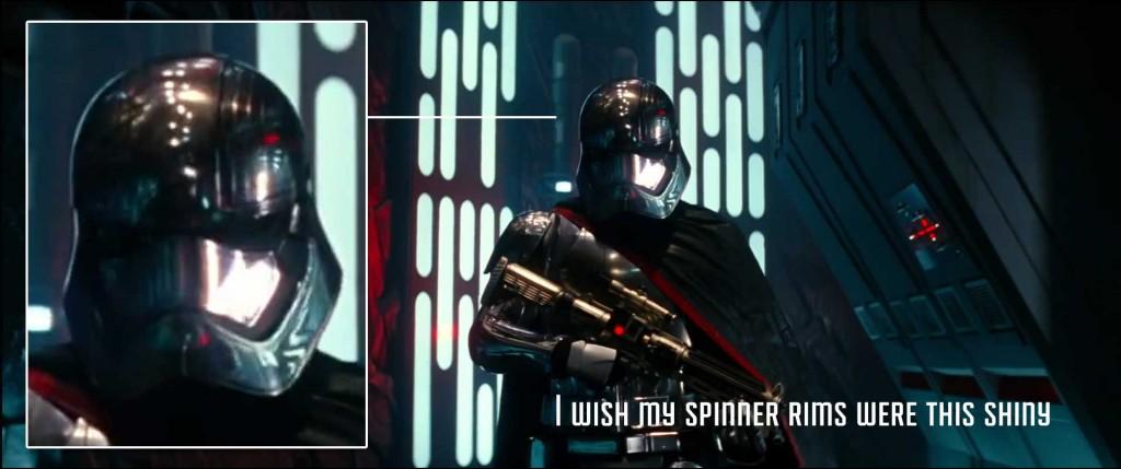 Captain Phasma the Chrome Trooper