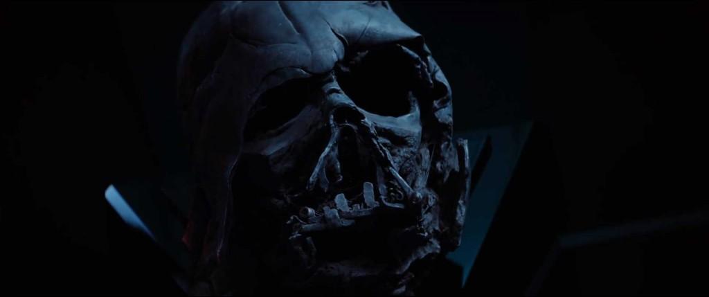 Vader's Burnt Mask