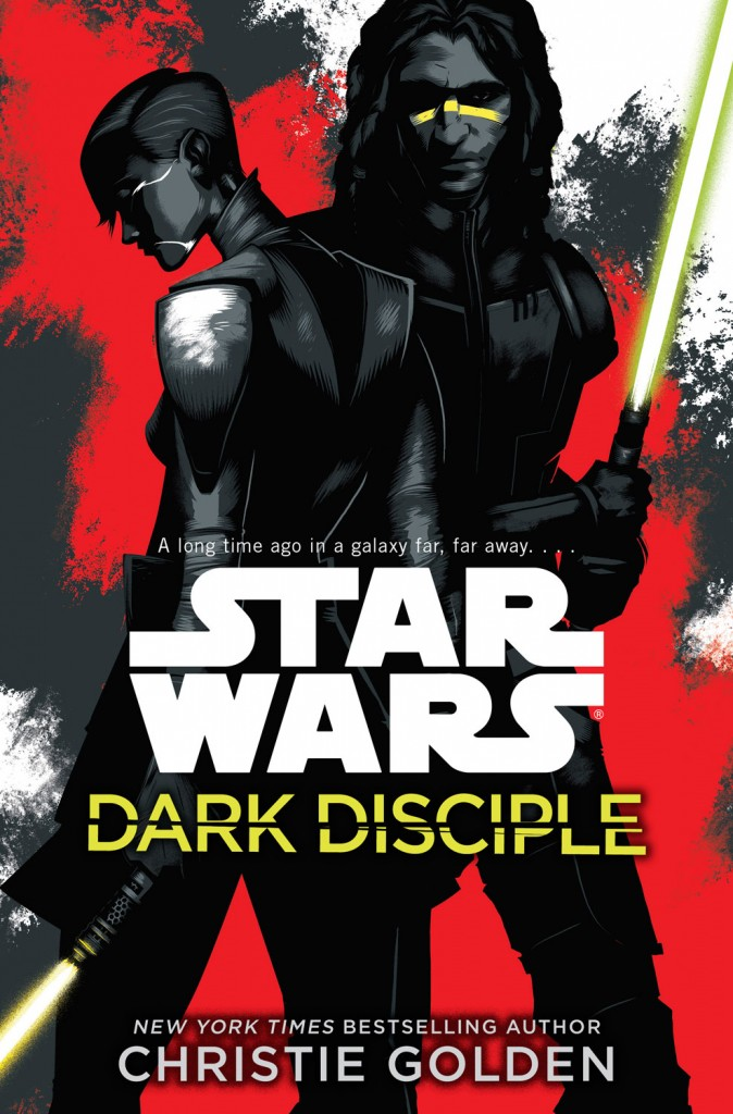 Star Wars: Dark Disciple Book Cover